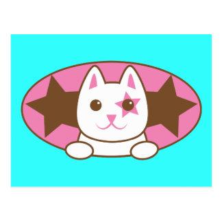 I'm a STAR CAT so cute! Postcard