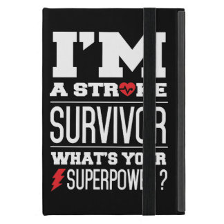 I'm A Stroke Survivor. What's Your Superpower? iPad Mini Cover
