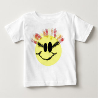 I'm a Sunshine Baby! White Baby T-Shirt