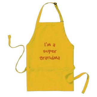 I'm a Super Grandma Apron