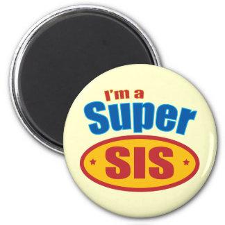 I'm a Super Sis Super Hero Big Sister Gift Magnets