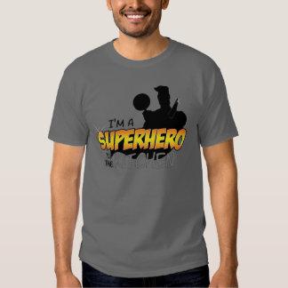 I'm a Superhero in the Kitchen Dark Grey Shirt