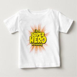 I'M A SUPERHERO in training Baby T-Shirt