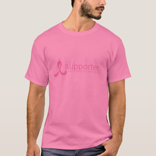 I'm A Supporter for Cancer Research T-Shirt