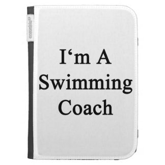 I'm A Swimming Coach Case For Kindle