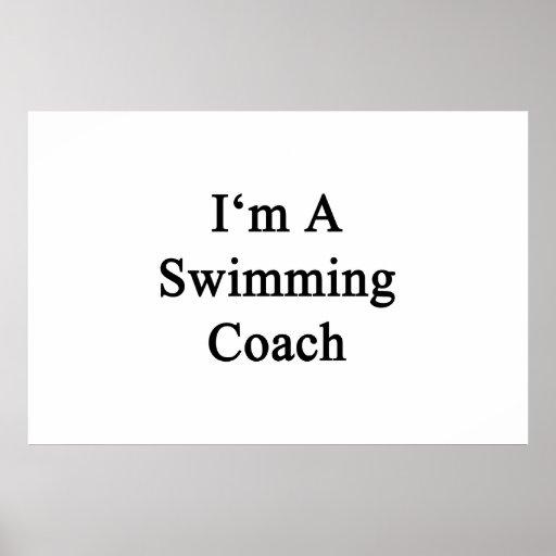 I'm A Swimming Coach Print