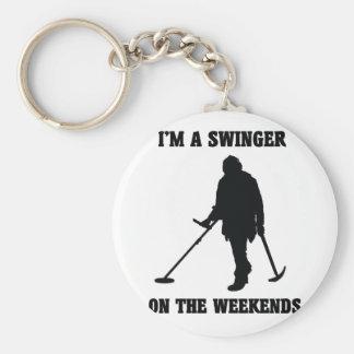 I'm A Swinger KeyChain