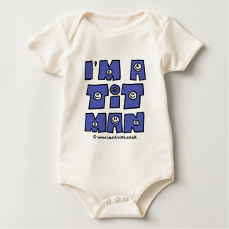 I'm a t it man baby bodysuit