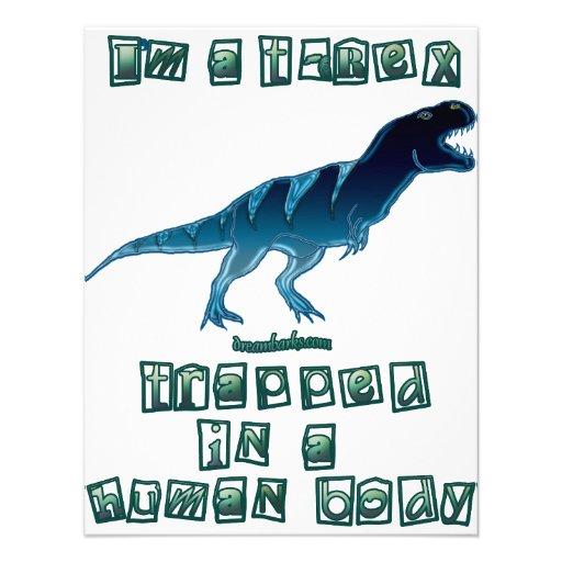 I'm a T-Rex Invites