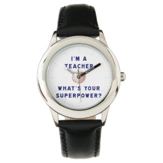 I'm a Teacher [apple] What's Your Superpower? Watch