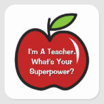 I'm a teacher what's your superpower stickers