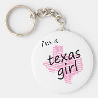 I'm a Texas Girl Keychains