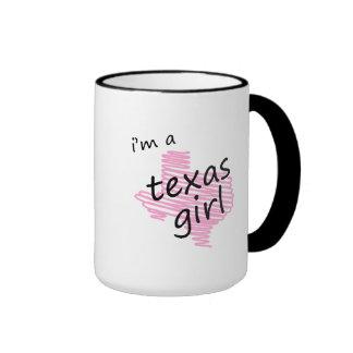 I'm a Texas Girl Coffee Mugs