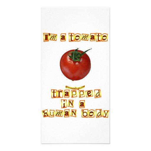 I'm a Tomato . . . Picture Card