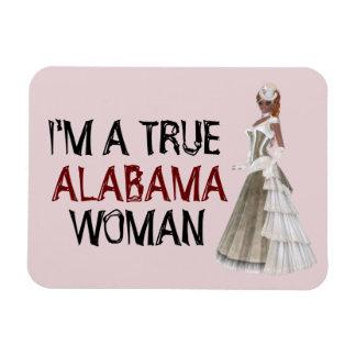 I'm A True Alabama Woman Flexible Magnet