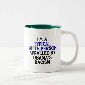 I'm a 'typical white person' appalled by... mug