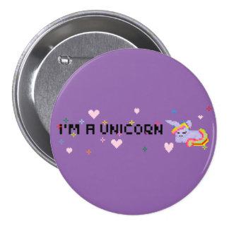 I'm a Unicorn button