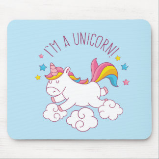 I'm A Unicorn Mousepad