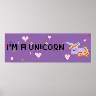 I'm a unicorn Poster