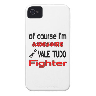 I'm a Vale Tudo Fighter iPhone 4 Case
