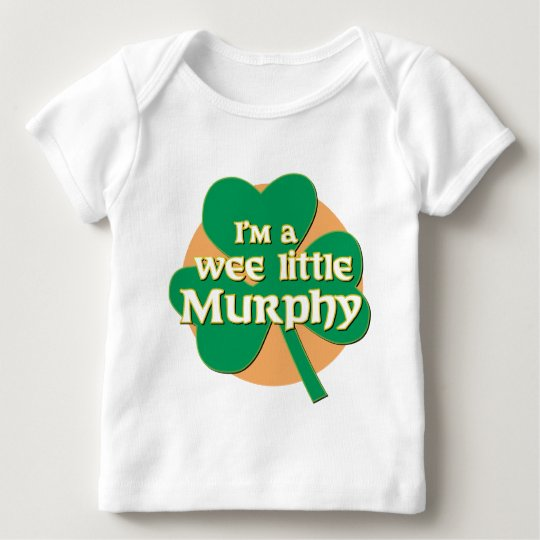 I'm a Wee Little Murphy Long Sleeve Infant Tshirt