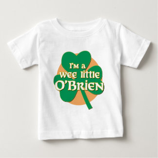 I'm a Wee Little O'Brien Infant Tshirt