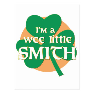 I'm a Wee Little Smith Postcard