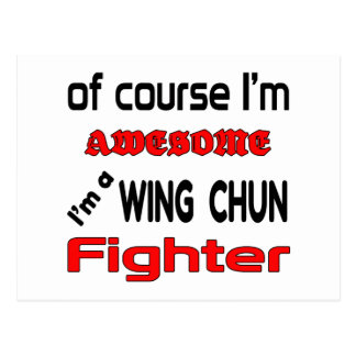 I'm a Wing Chun Fighter Postcard