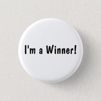 I'm a Winner! 3 Cm Round Badge