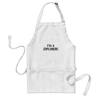 Im a Zipliner Standard Apron