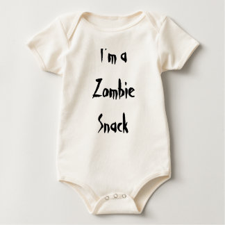 I'm a zombie snack baby bodysuit