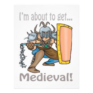 Im About To Get Medieval Personalized Flyer
