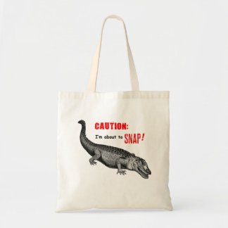 I'm About to Snap! Budget Tote Bag