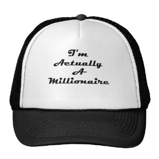 I'm Actually A Millionaire Hat