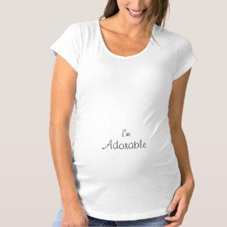 I'm Adorable Maternity T-Shirt