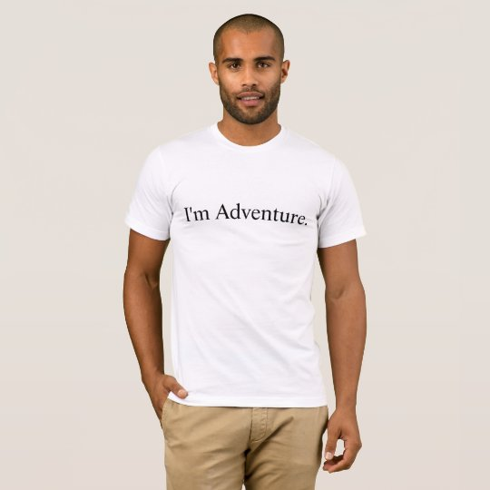 I'm Adventure Premium T-Shirt Love Hiking Outdoors