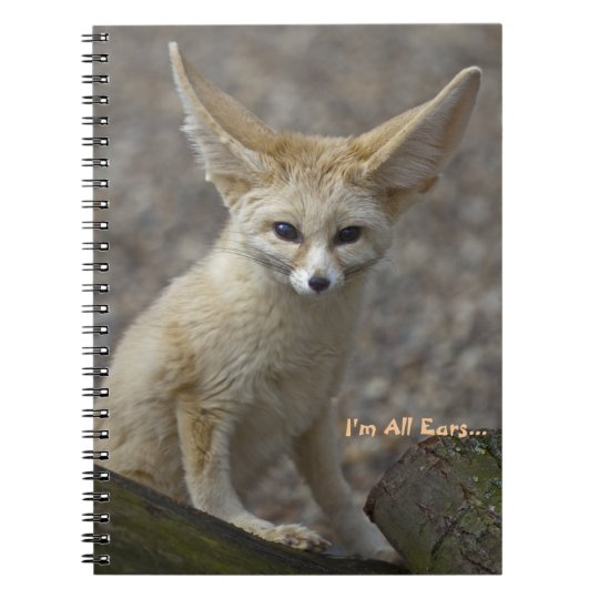 I'm All Ears Notebook