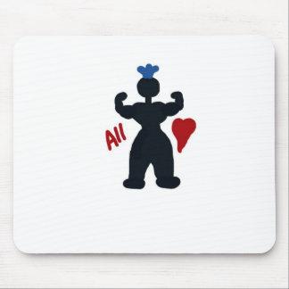 I'm All Heart Mousepad