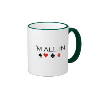 I'm all in T-shirt Mugs