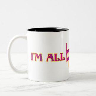Im All Natural Two-Tone Mug