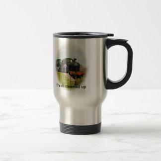 I'm  all steamed up mug