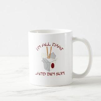 I'm All That and Dim Sum Basic White Mug