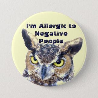 I'm Allergic_Button 7.5 Cm Round Badge