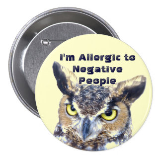 I'm Allergic_Button 7.5 Cm Round Badge