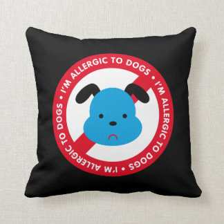 I'm allergic to dogs! Dog allergy Cushions