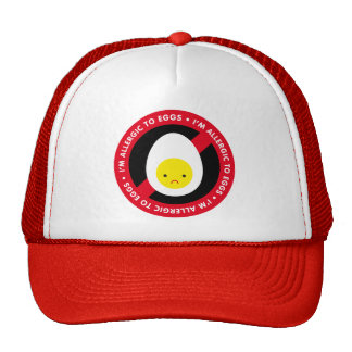 I'm allergic to eggs! hats