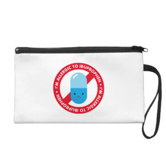 I'm allergic to ibuprophen! Ibuprophen allergy Wristlets