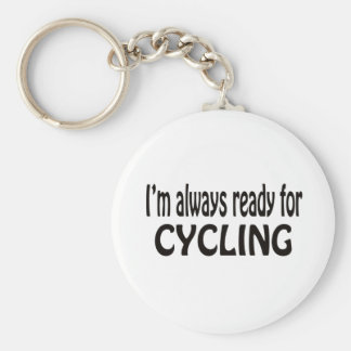 I'm always ready for Cycling. Keychains