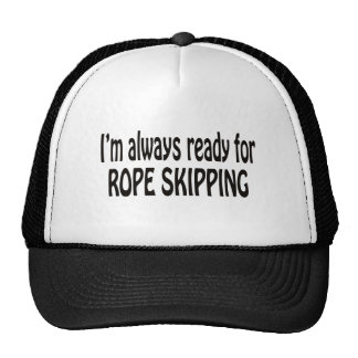 I'm always ready for Rope Skipping Cap