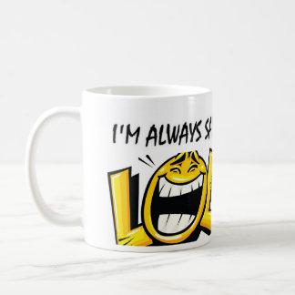 I'm Always Sad Basic White Mug